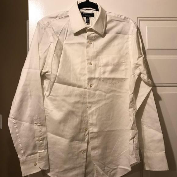 Banana republic - white button down shirt